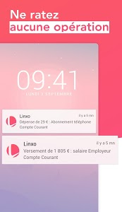screenshot of Linxo - Gérer mes comptes, mon budget version Varies with device