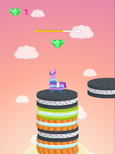 screenshot of Llama Masters - Stack Jumping Game: Pinata Lama version 1.0.0