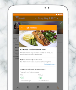 screenshot of Lose It! - Calorie Counter version Varies with device