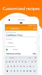 screenshot of Calorie Counter by Lose It! for Diet & Weight Loss version 12.1.500