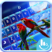 Lovely Parrots Keyboard Theme