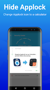 screenshot of MAX AppLock - App Locker, Security Center version 1.5.2