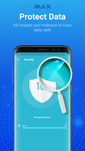 screenshot of MAX AppLock - App Locker, Security Center version 1.5.8