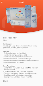screenshot of MSI Bisnis version 2.0.5