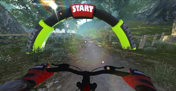 screenshot of MTB DownHill: Multiplayer version 1.0.22