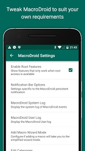 screenshot of MacroDroid - Device Automation version 4.9.5.2