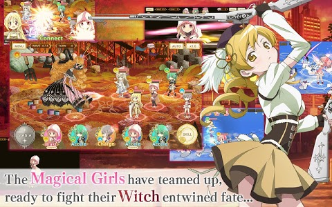 screenshot of Magia Record English version 1.1.10