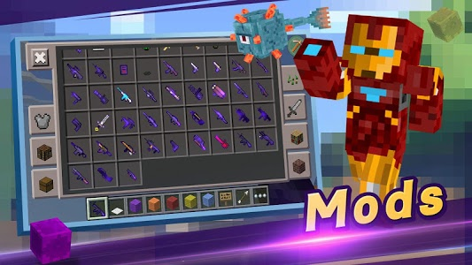 screenshot of Master for Minecraft(Pocket Edition)-Mod Launcher version 2.1.98