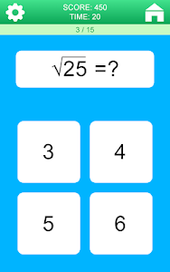 screenshot of Math Games version 30
