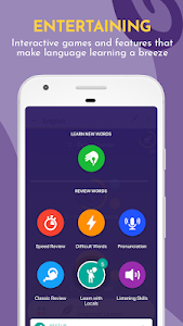 screenshot of Learn Languages, Grammar & Vocabulary with Memrise version Varies with device