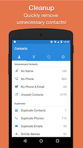 screenshot of Cleaner - Merge Duplicate Contacts version Varies with device