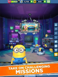 screenshot of Minion Rush: Despicable Me Official Game version 7.1.0f