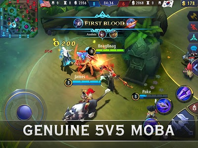 screenshot of Mobile Legends: Bang Bang version 1.2.81.2845