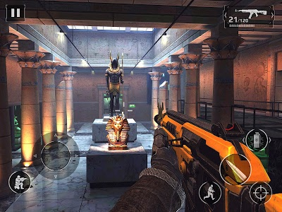 screenshot of Modern Combat 5: eSports FPS version 4.2.1a