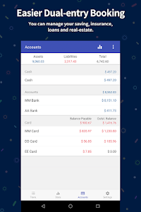 screenshot of Money Manager Expense & Budget version 4.2.5 FO