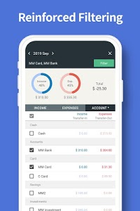 screenshot of Money Manager Expense & Budget version 4.4.5 FO