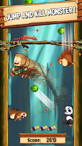 screenshot of Monkey jungle jump - temple monkey jump version 1.0.1