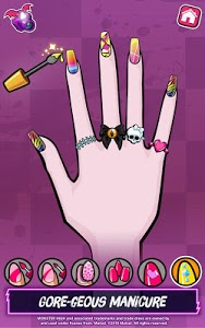 screenshot of Monster High™ Beauty Shop: Fangtastic Fashion Game version 1.2.9
