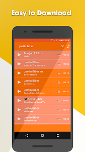 screenshot of Mp3 Music Download free version 1.0