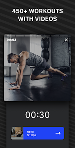 screenshot of Muscle Booster: Fitness at home version 1.5.3