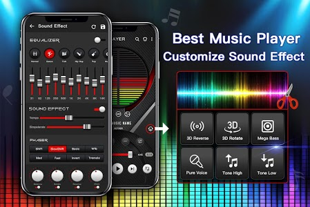 screenshot of Music Player - Audio Player with Best Sound Effect version 1.1.3