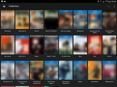 screenshot of My Movies - Movie & TV Collection Library version 2.26 Build 16