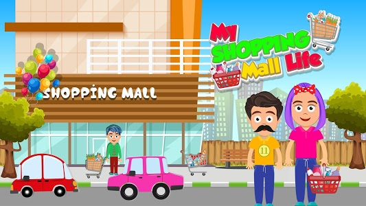 screenshot of My Shopping Mall Life: Pretend Fun Town Games version 1.0