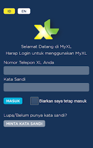 screenshot of MyXL version 2.0.3