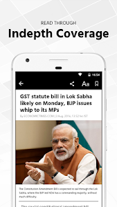 screenshot of Economic Times : Market News version Varies with device