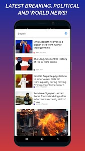 screenshot of News Home - Full Screen News Widget and Launcher version 2.5.93