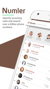 screenshot of Numler: Caller ID, Spam Detection & Call Blocker version 3.3.1