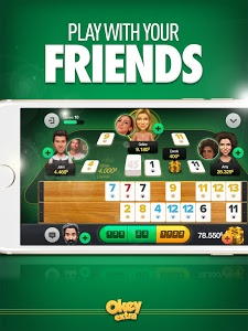screenshot of Okey Extra - Gin Rummy Online version Varies with device