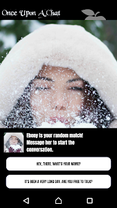 screenshot of Once Upon a Chat version 1.01