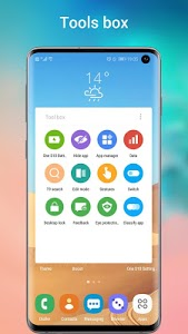 screenshot of One S10 Launcher - S10 Launcher style UI, feature version 5.1
