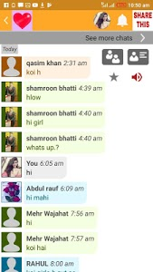 screenshot of Online Girls Talk version 9.2