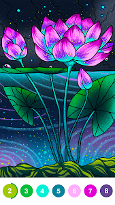 screenshot of Paint By Number - Free Coloring Book & Puzzle Game version 2.15.1