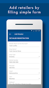 screenshot of PayNearby Distributor – Top-Up, OD, GST Invoice version 1.2.8