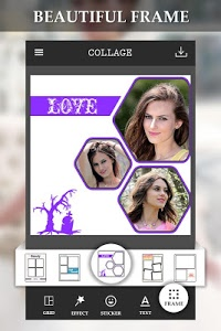screenshot of Photo Collage Editor version 1.0