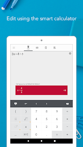 screenshot of Photomath version Varies with device