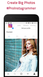 screenshot of PhotoSplit - Photo Grid Maker for Instagram version 2.9.14