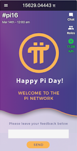screenshot of Pi Network version 1.20.0