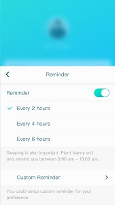 screenshot of Plant Nanny² - Your Adorable Water Reminder version 1.5.4.2