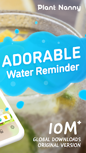 screenshot of Plant Nanny² - Your Adorable Water Reminder version 1.6.2.1