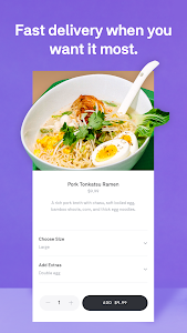 screenshot of Postmates - Local Restaurant Delivery & Takeout version 5.2.5