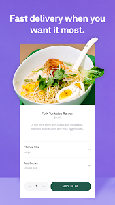 screenshot of Postmates - Local Restaurant Delivery & Takeout version 5.4.7