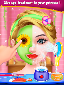 screenshot of Princess Long Hair Salon - Girls Long Hair Styles version 1.0.6