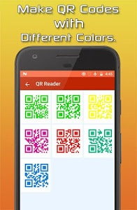 screenshot of Qr Code Reader, Barcode Reader & Qr Code Creator version 3.6