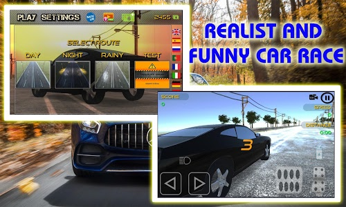 screenshot of Race With Luxury Cars - Car Racing in Traffic New version 7.0