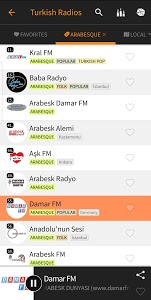 screenshot of Radyo Kulesi - Turkish Radios version Varies with device
