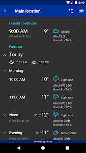 screenshot of Rain Alarm version Varies with device